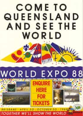 World Expo 88 poster