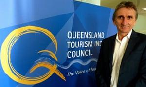 Queensland tourism chief Daniel Gschwind