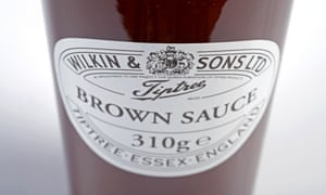 Wilkin & Sons brown sauce. The answer's still no
