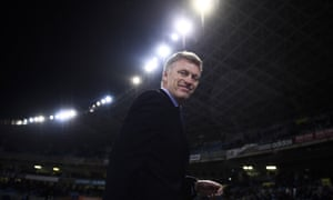 The Real Sociedad coach David Moyes helped steer his club to victory over Barcelona.