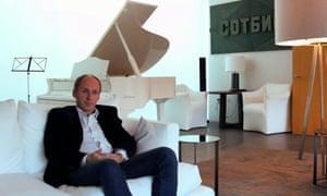 Igor Tsukanov in his all-white mansion