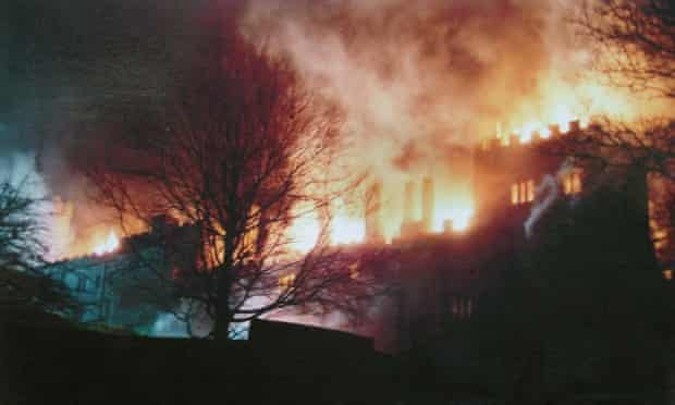 Bertha's triumph? Thornfield Hall goes up in flames at the end of Jane Eyre