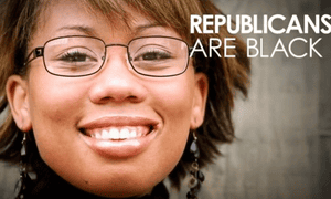 Republican campaign poster from October 2014