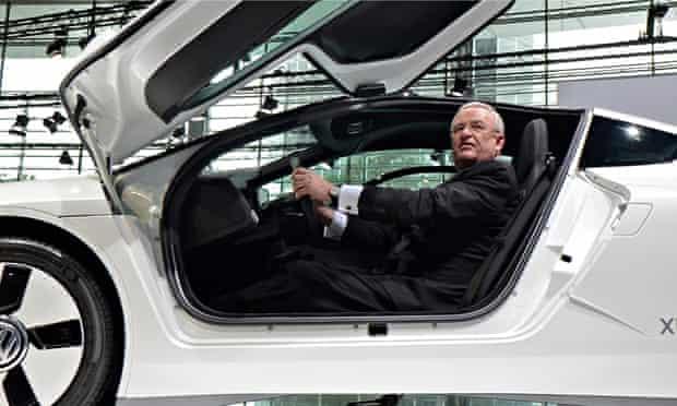 Martin Winterkorn, CEO of Volkswagen