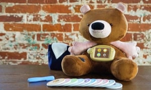 Jerry the Bear, an interactive toy from the US that helps young children with type 1 diabetes to manage their condition