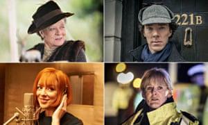 Dame Maggie Smith, Benedict Cumberbatch, Sheridan Smith and Sarah Lancashire