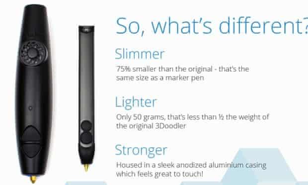 new 3doodler pen