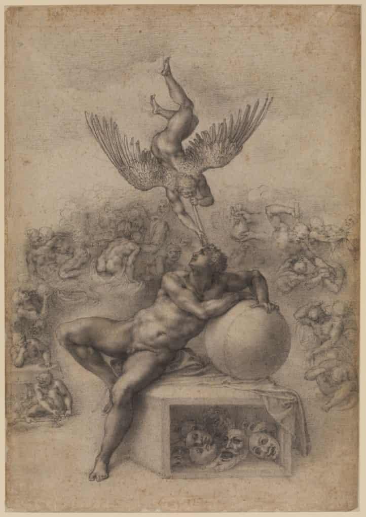 The Dream (c 1533), by Michelangelo Buonarrotti