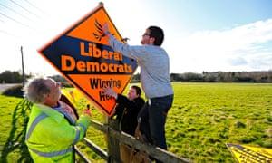 Lib Dem sign