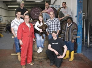 BrewDog staff in 2008