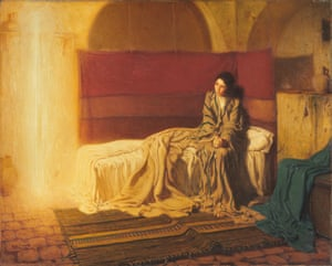 The Annunciation, 1898, Henry Ossawa Tanner