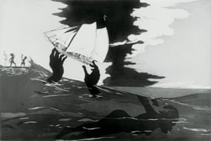 No world, 2010, from the series An Unpeopled Land in Uncharted Waters by Kara Walker
