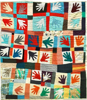 Hands Quilt, 1980 by Sarah Mary Taylor