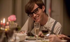 Eddie Redmayne as Stephen Hawking in The Theory of Everything
