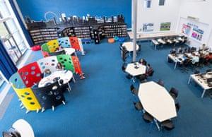 Duston school library