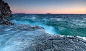 Bruce Peninsula shore