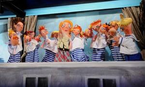 A puppet show at Alfa Theatre, Pilsen