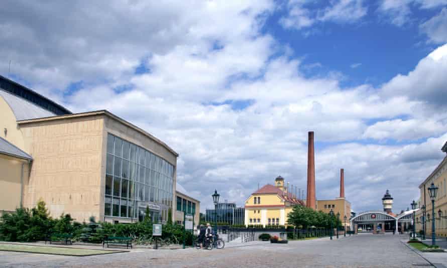 Pilsner Urquell Brewery Visitors Centre Plzen Czech Republic.