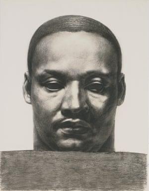 Martin Luther King Jr, 1981, by John Woodrow Wilson