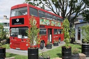 Rosendale library bus