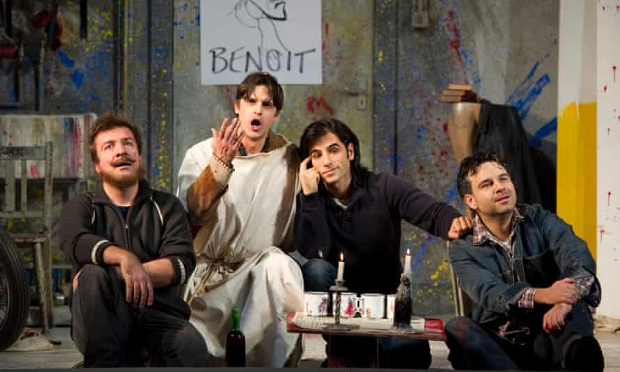 Opera North's 2010 production of Puccini's La Bohème.