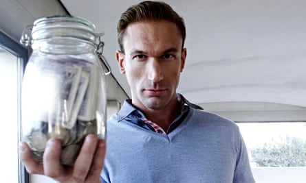 The motivator … Christian Jessen in Weighing Up the Enemy. Photograph: Dave King/Channel 4