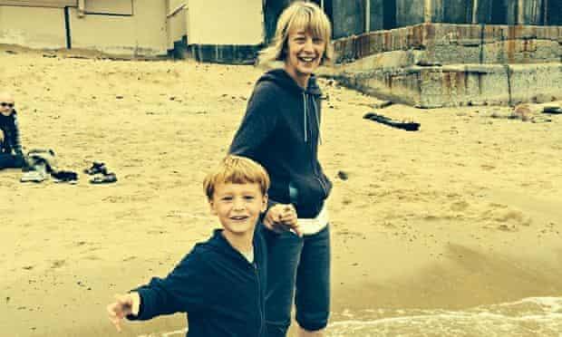 Judith Lennox and grandson Ethan