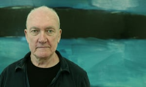 Sean Scully portrait by Martin Godwin for the Guardian