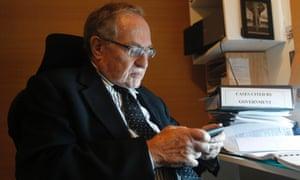Attorney and law professor Alan Dershowitz.