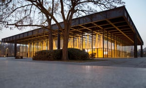 David Chipperfield's exhibition, Sticks and Stones, at The Neue Nationalgalerie in Berlin.