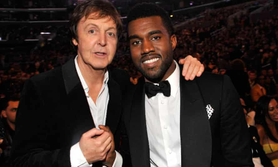 Paul McCartney and Kanye West.
