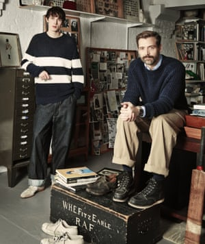 'I take inspiration from the bleak streets of the north of England': Patrick Grant.