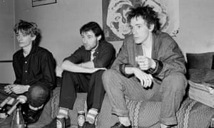 'I became the main man very young' ... Jah Wobble with Keith Levene and John Lydon of Public Image Ltd in 1981.