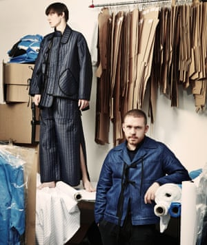 'Things are always based around that boxy workwear utilitarian shape': Craig Green.