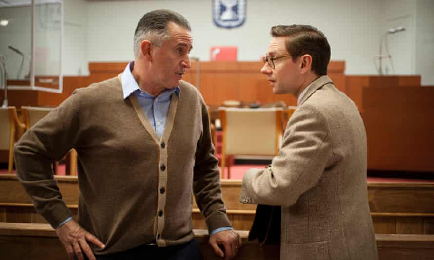 Anthony LaPaglia as director Leo Hurwitz with Martin Freeman as Fruchtman