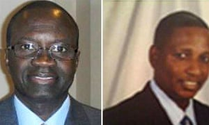 Photos showing Cherno Njie (L) and Papa Faal (R). Photo: social media