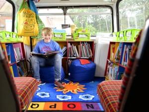 Rosendale libary bus