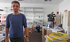 Charlie Hebdo's publisher, Stephane Charbonnier