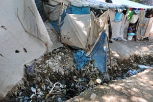 At Camp Acira in Port-au-Prince, which was set up for those displaced by the earthquake, filthy canals criss-cross the compound and overflow into homes when it rains.