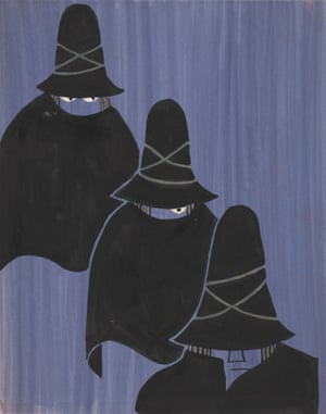 Tomi Ungerer Untitled, 1961 (drawing for The Three Robbers)