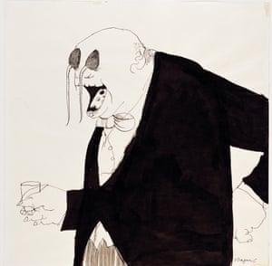 Tomi Ungerer Untitled, 1966 (drawing for The Party)