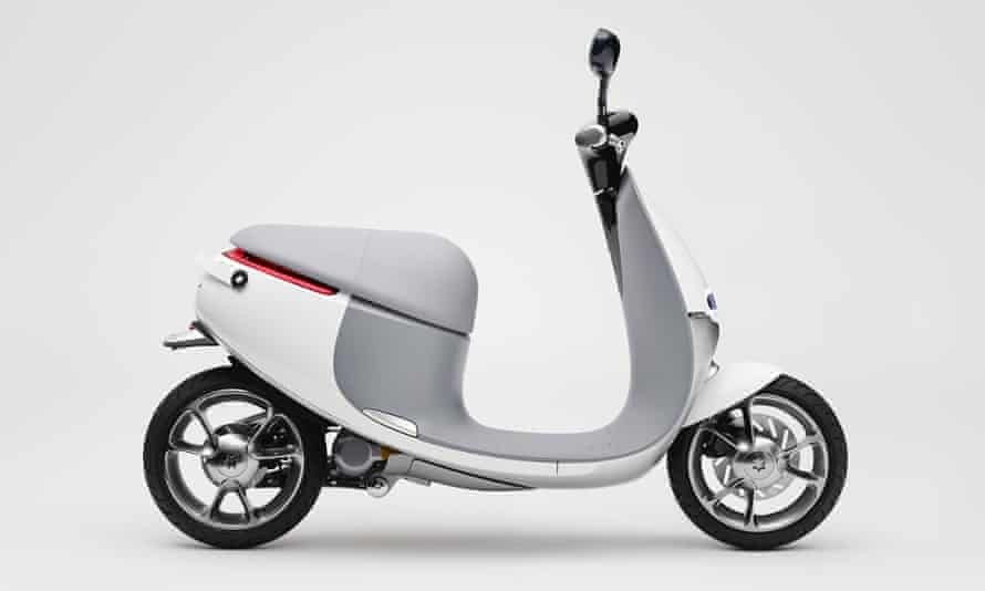 Gogoro's Smartscooter was one of the hits of CES 2015.