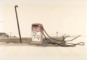 Tomi Ungerer No Parking Please, 1971-1983 (drawing for Slow Agony)