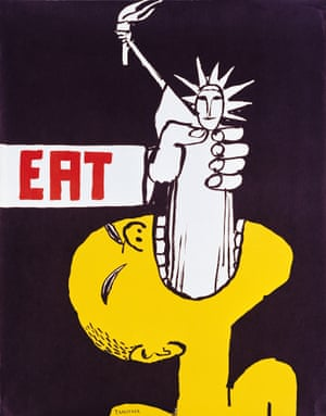 Tomi Ungerer Eat, 1967 (political poster)