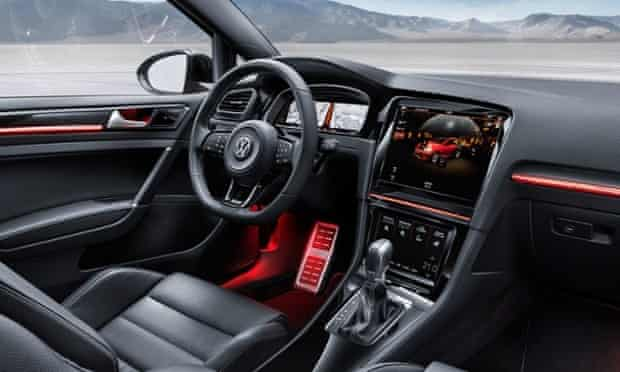 The Volkswagen Golf R Touch Concept car.