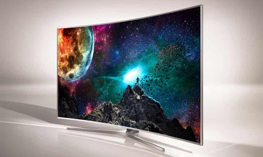 Samsung's new SUHD TVs.