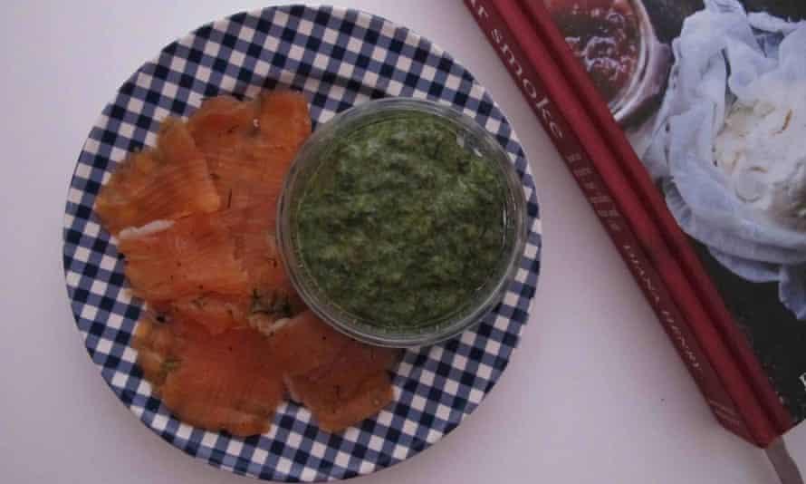 Diana Henry's gravadlax with Trina Hahnemann's sauce