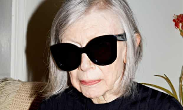 Timeless cool: Joan Didion in Céline's advertising campaign.