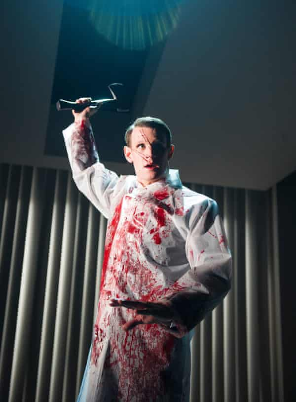 Matt Smith in the Almeida's 2013 production of American Psycho.