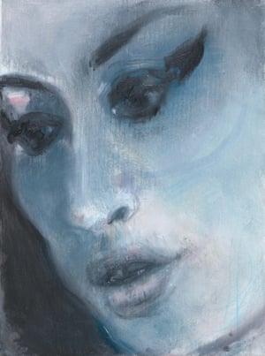 Amy - Blue (2011) Marlene Dumas